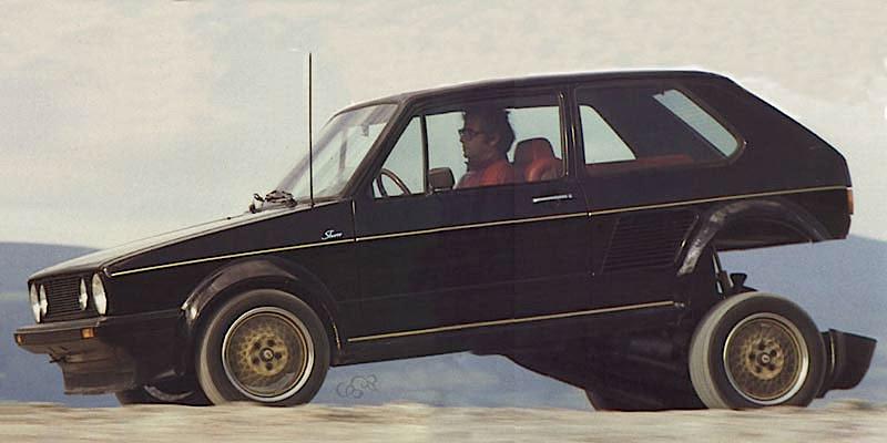 '83 Sbarro Golf Turbo – Quand Franco s'occupait de la voiture du peuple !