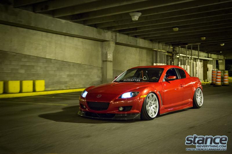 DLEDMV - Mazda RX8 slammed - 01