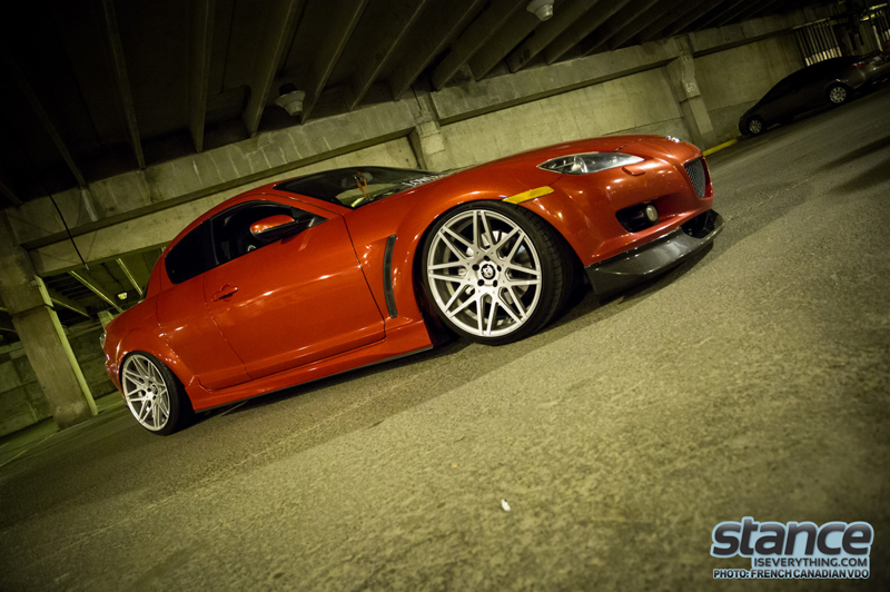 DLEDMV - Mazda RX8 slammed - 06