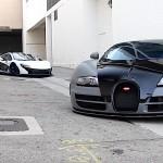 Bugatti Veyron Grand Sport Vitesse & Mclaren P1- Passage en hyper-espace
