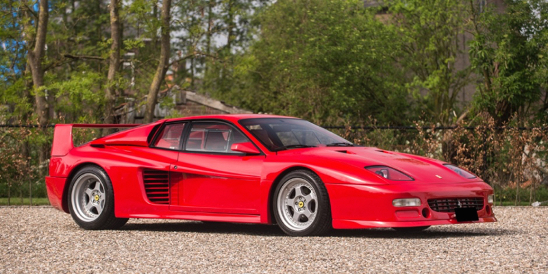 Ferrari Testarossa Koenig Competition Evolution… La brute des 80's