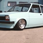 Low & Lazy Fiesta Mk1 - Petit ovale bleu !