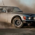 '81 Mercedes 500 SL – Rallye dans le désert Californien
