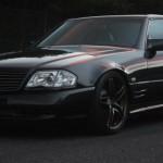 '91 Mercedes 500 SL swap 2JZ… Une allemande au coeur nippon !
