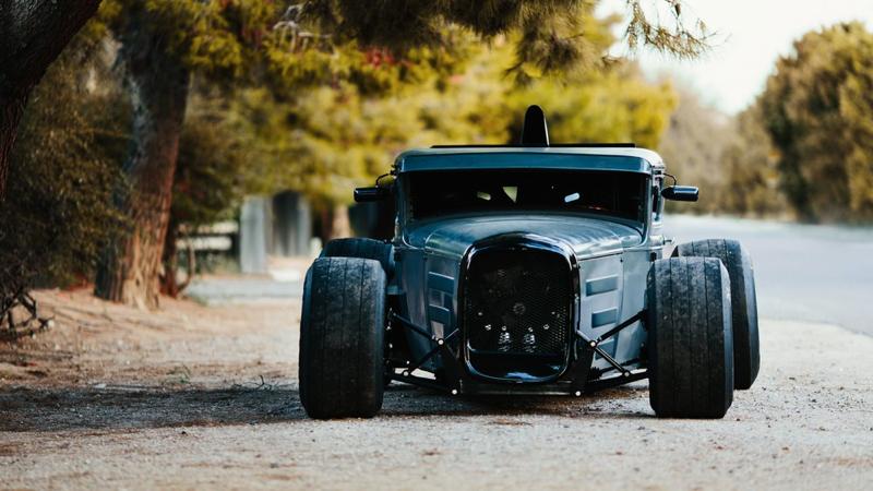 DLEDMV - Ford A Hot rod + F1 - 06