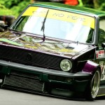 "Hillclimb Monster : Golf 1 GTI 16v – ""Purple Reine"""