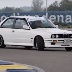 Action ! BMW M3 E30 on track...