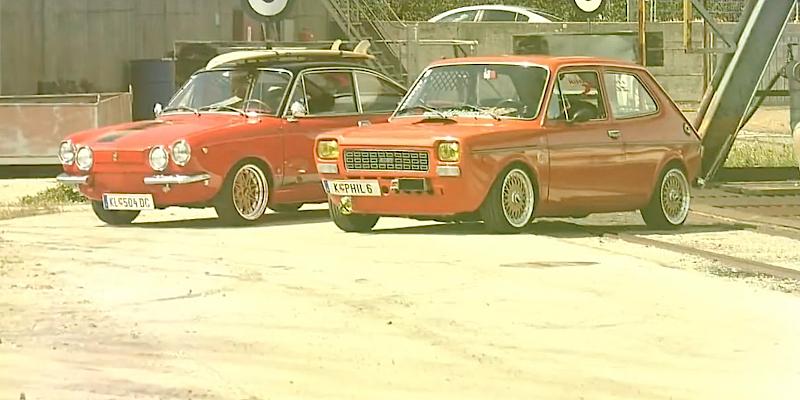 Stanced Fiat 127 & 850 : Vous allez aimer les Fiat !