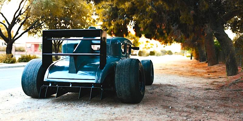 '30 Ford A Vtec… Quand un Hot Rod rencontre une F1 !