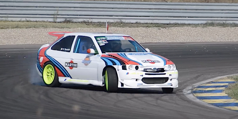 Ford Escort Cosworth – Serial drifteuse…