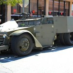 "Twin V8 dans un Half track ! ""The custom's army"""