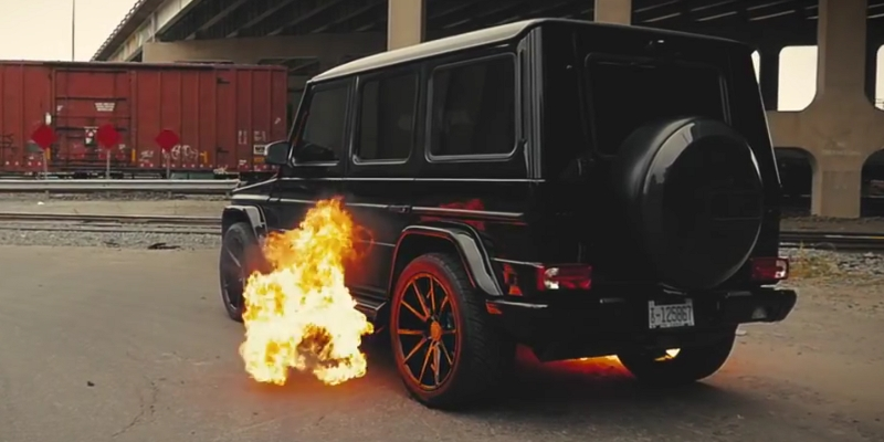 Mercedes G63 AMG Eurowise : German Dragon !