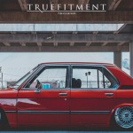 BMW 520i E12 Red Russian !
