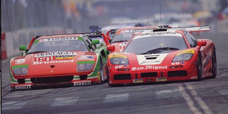 BPR Spa 96… La course avec les mythiques GT1 des 90's