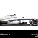 Des F1 modernes en robes vintage ! 12