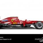 Des F1 modernes en robes vintage ! 15