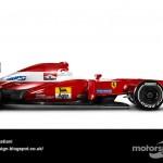 Des F1 modernes en robes vintage ! 16