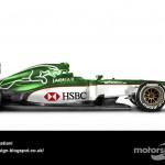 Des F1 modernes en robes vintage ! 32