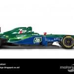 Des F1 modernes en robes vintage ! 5