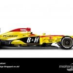 Des F1 modernes en robes vintage ! 11