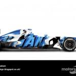 Des F1 modernes en robes vintage ! 31