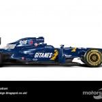 Des F1 modernes en robes vintage ! 30