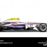 Des F1 modernes en robes vintage ! 10