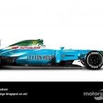 Des F1 modernes en robes vintage ! 26