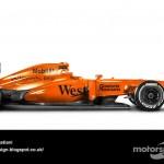 Des F1 modernes en robes vintage ! 27