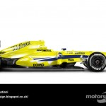 Des F1 modernes en robes vintage ! 28