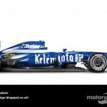 Des F1 modernes en robes vintage ! 3