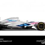 Des F1 modernes en robes vintage ! 9