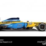 Des F1 modernes en robes vintage ! 24