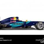 Des F1 modernes en robes vintage ! 2