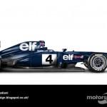 Des F1 modernes en robes vintage ! 22