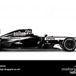 Des F1 modernes en robes vintage ! 1