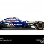 Des F1 modernes en robes vintage ! 7