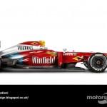 Des F1 modernes en robes vintage ! 19