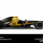Des F1 modernes en robes vintage ! 18