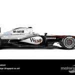 Des F1 modernes en robes vintage ! 17