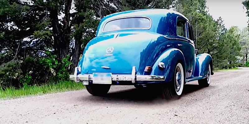 DLEDMV - Mercedes benz 220 W187 The Blues - 06