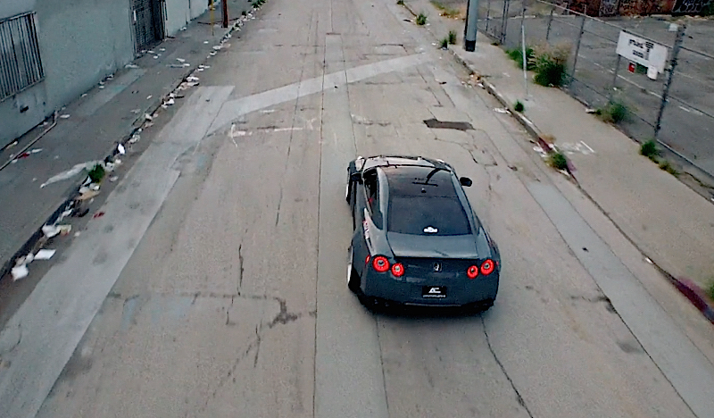 DLEDMV - Nissan GTR Rocket Bunny Grey - 05