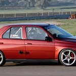 Alfa 155 2.0 Twin Spark en mode race