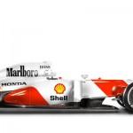 Des F1 modernes en robes vintage !