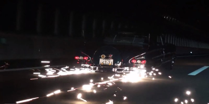 Impala Coupé '58 Lowrider – Japoricaine rutilante !