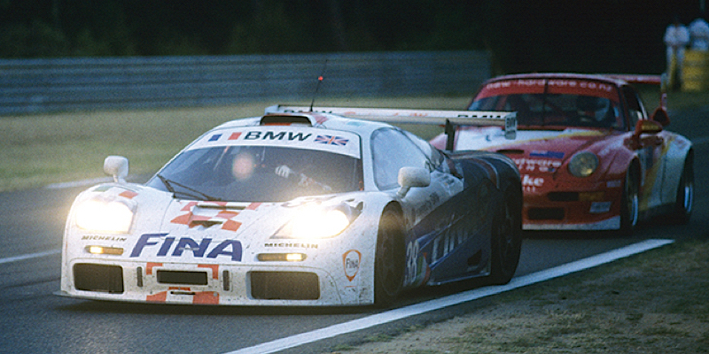 Race Battle : Le Mans 96 – McLaren F1 GTR vs Porsche 911 GT1