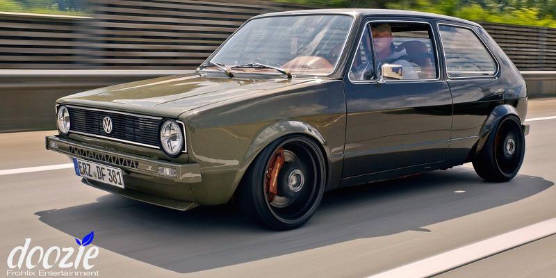 Golf 1 16v Turbo… Le monstre en Carbone / Kevlar