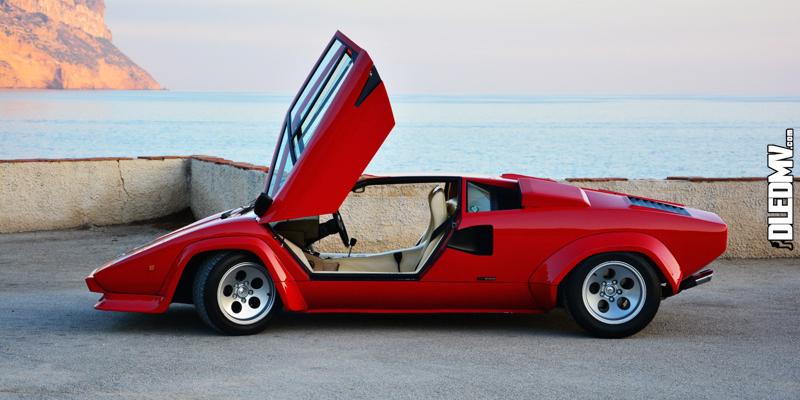Lamborghini Countach… Un rêve de gosse !