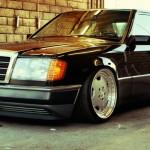 Mercedes 300E W124… AMG ou BBS ?