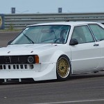 VW Scirocco MK1 - Warm up...